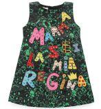 Moda Vestido de bebê Frocks in Children Garment