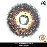 17 do '' escovas abrasivas Cilicon-Carboneto, escova de limpeza para a pedra sintética de mármore e vidro