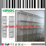 Casiers galvanisés de maille de fil d'acier pour la région de construction