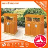 熱い販売のゴミ箱の木のゴミ箱の不用な大箱