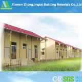 Casas modulares de aço concretas pré-fabricadas baratas modernas de China
