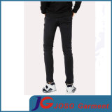 Men (JC3403)のための余暇Black Fitted Skinny Jeans