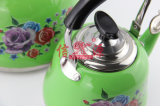 Stick Flower (FT-2802-2)のステンレス製のSteel Print Spraying Kettle