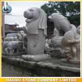 Escultura cinzelada de Singapore Merlion da estátua de Merlion