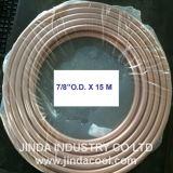"""7/8 """" di bobina molle del rame della bobina del pancake di temperamento del O.D. ASTM B280"""