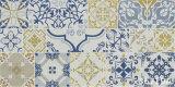 Decorativo azulejo de la pared de cerámica cocina rústica (300x600mm)