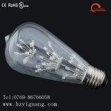 Bulbo estrelado energy-saving da luz de teto do diodo emissor de luz da forma do St