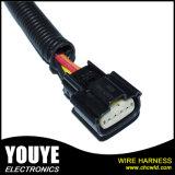 Cabo elétrico personalizado da fonte de alimentação do motor do chicote de fios do fio da máquina do aparelho electrodoméstico
