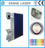 Macchina portatile della marcatura del laser della fibra di volo con alta precisione