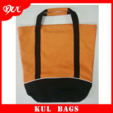 (KL023)顧客用ロゴによって印刷されるキャンバスのトートバックの女性ショッピング・バッグ