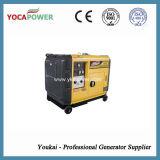 conjunto de generador eléctrico de la pequeña potencia silenciosa del motor diesel 5.5kw