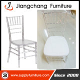Tiffanyのイベントの透過明確な結婚式の樹脂のアクリルのChiavariの椅子