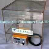Machine de flocage électrostatique en nylon et matériel du cadre 3D en verre portatif