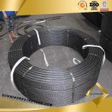 7 Wire PC Strand para la Construcción de China
