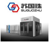 Máquina que sopla rotatoria automática del animal doméstico de Sgz-12h para las botellas del relleno en caliente