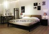 Modernes Art-Leder-doppeltes Bett (A-B39)
