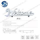 Acero inoxidable 304 Manija de puerta de baño (A12)