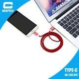 고속 나일론 땋는 유형 C USB 케이블