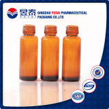 20ml/30ml/50ml/100ml Pharmaceutical Amber Glass Bottle
