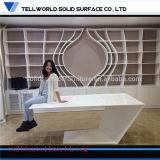 1200年の事務机のGoogle様式ドイツオフィス用家具のダニーVenletの机の不規則な形の事務机