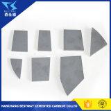 Placas do carboneto de tungstênio para a agricultura