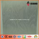 Panneautage composé en aluminium métallique de série de contact gravé en relief diverses par configurations