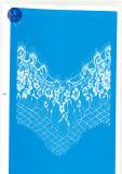 Merletto del ciglio per vestiti/indumento/pattini/sacchetto/caso J026 (larghezza: 4.5cm-23cm)