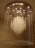 Luz de teto moderna de cristal de Phine boa Decoratio grande