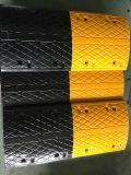 Beste Qualitätsgelbe und schwarze Gummigeschwindigkeits-Stösse