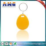 超機密保護の高周波の125kHz黄色いデジタルRFID Keyfob