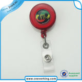 Carrete de acero resistente de la divisa del clave del paso con el clip de la correa