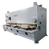 Máquina da tesoura da guilhotina da máquina de corte da folha do ferro do CNC de QC11k, cortador hidráulico do metal
