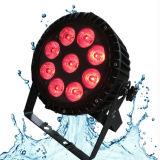 18PCS imperméable à l'eau 18W Uplight pour l'étape extérieure de noce