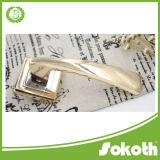 금 니스 디자인 고품질 아연 합금 문 손잡이