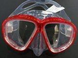 Маска подныривания малого объема силикона 2015 профессионалов с Tempered стеклом (MK-503)