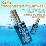Enjuague natural y de la seguridad para el cuidado oral