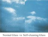 Zelfreinigend Glas voor het Gebruik van de Badkamers en van het Venster