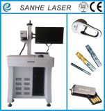 Маркировка логоса, миниая гравировка, аттестация Ce/ISO машины маркировки лазера волокна