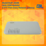 Traversa-Network Gateway Radio/VoIP/GSM Built di RoIP302M nel SIP Server
