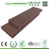 Piso de madera compuesto de plástico para terraza y patio