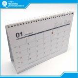 A todo color de impresión de calendarios de escritorio mensual