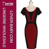 Платье дела работы Bodycon карандаша женщин (L36100-2)