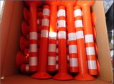 L'India riflettente Market Good Quality Red o Yellow Parkingtraffic Post o Spring Post