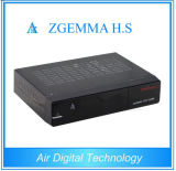 HD Full 1080P Zgemma H.S Single Tuner DVB-S2衛星TV Receiver WebtvのインターネットTV Set Top Box