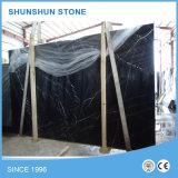Черный сляб Marquina мраморный для строительного материала