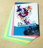 бумага цвета сырья бумаги экземпляра цвета 150GSM смещенная для бумажного мешка и скоросшивателя архива