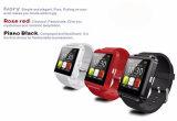 Do silicone de borracha de Wirst do esporte da tela de toque TFT LCD relógio esperto