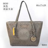 26cm PU Handbag革Mkの方法トートバックデザイナー女性の女性