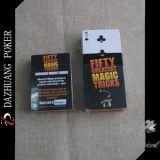 Fünfzig größte magische Trick-Spielkarten