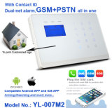Alarme de segurança sem fio do assaltante da segurança Home de GSM+PSTN Cid